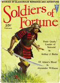 Pulps:Adventure, Soldiers of Fortune V1#3 (Clayton Magazines, 1932) Condition: GD/VG....
