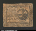 Colonial Notes:Continental Congress Issues, November 29, 1775, $2, Continental Congress Issue, CC-12, VF. ...