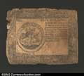 Colonial Notes:Continental Congress Issues, September 26, 1778, $5, Continental Congress Issue, CC-79, VG-...