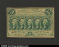 Fractional Currency:First Issue, First Issue 50c, Fr-1312, AU. This is the type variety with ...