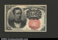 Fractional Currency:Fifth Issue, Fifth Issue 10c, Fr-1266, Choice CU. A gorgeous short key ...