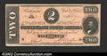 Confederate Notes:1864 Issues, 1864 $2 Judah P. Benjamin, T-70, Choice CU. Well centered and ...