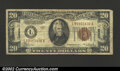 Small Size:World War II Emergency Notes, 1934-A $20 Hawaii Federal Reserve Note, Fr-2305, Fine. ...
