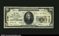 National Bank Notes:Maryland, Friendsville, MD - $20 1929 Ty. 2 The First NB Ch. # ...