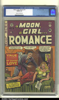 Golden Age (1938-1955):Romance, A Moon, A Girl... Romance #9 (EC, 1949). CGC VG/FN 5.0 Cream tooff-white pages. Moon Girl cameo. Al Feldstein cover and art...