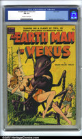 Golden Age (1938-1955):Science Fiction, An Earth Man on Venus nn (Avon, 1951) CGC FN+ 6.5 Off-white towhite pages. Fawcette cover. Wally Wood art. Overstreet 2002 ...