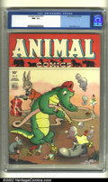 Golden Age (1938-1955):Funny Animal, Animal Comics #10 (Dell, 1944). CGC NM- 9.2 Off-white pages. WaltKelly cover. Overstreet 2002 NM 9.4 value = $285....