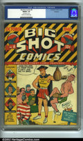 Golden Age (1938-1955):Miscellaneous, Big Shot Comics #6 Rockford pedigree (Columbia, 1940) CGC FN/VF 7.0 Cream to off-white pages. Features Joe Palooka, Skyman a...