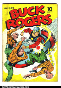 Buck Rogers Golden Age #5 (Eastern Color, 1943). Condition: VG+