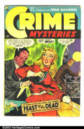 Golden Age (1938-1955):Horror, Crime Mysteries #15 (Ribage Publishing, 1954) Condition: GD. Waterstains. Complete. Classic horror issue. Overstreet 2002 G...