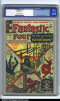Silver Age (1956-1969):Superhero, Fantastic Four #17 (Marvel, 1963). CGC VF/NM 9.0 Off-white to white pages. Overstreet 2002 NM 9.4 value = $375....