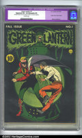 Golden Age (1938-1955):Superhero, Green Lantern #1 (DC, 1941). CGC Apparent VF+ 8.5 Extensive (P) Off-white pages. Restoration includes: color touch, seals, p...
