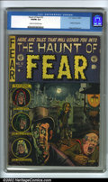 Golden Age (1938-1955):Horror, The Haunt of Fear #12 (EC, 1952). CGC VG/FN 5.0 Cream to off-whitepages. Overstreet 2002 GD 2.0 value = $31; FN 6.0 value =...