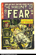 Golden Age (1938-1955):Horror, The Haunt of Fear #16 (EC, 1952) Condition GD-. Has tape at spineand extra staples. Classic Ray Bradbury horror story. Ove...
