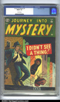 Golden Age (1938-1955):Horror, Journey into Mystery #3 (Atlas, 1952). CGC FN/VF 7.0 Off-whitepages. Overstreet 2002 FN 6.0 value = $231; VF 8.0 value = $4...