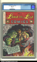 Golden Age (1938-1955):Humor, Land of the Lost #6 (EC, 1947). CGC FN+ 6.5 Off-white pages. Overstreet 2002 FN 6.0 value = $60....