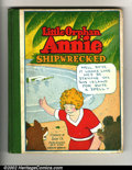 Platinum Age (1897-1937):Miscellaneous, Little Orphan Annie Hardback & Comic Lot (Cupples &Leon/Dell, 1931-1948). Little Orphan Annie Shipwrecked Hardcover1931 no...