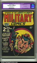 Golden Age (1938-1955):War, Military Comics #5 (Quality, 1941) CGC Apparent VF 8.0 Slight (P)Off-white to white pages. Restoration includes: cover clea...