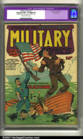 Golden Age (1938-1955):War, Military Comics #11 Pennsylvania pedigree (Quality, 1942) CGC Apparent FN+ 6.5 Slight (P) Cream to off-white pages. Flag cov...