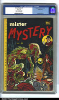 Golden Age (1938-1955):Horror, Mister Mystery #2 Double cover (Aragon Magazines, Inc., 1951). CGCFN+ 6.5 Cream to off-white pages. Outer cover: 5.5, inner...