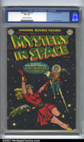 Golden Age (1938-1955):Science Fiction, Mystery in Space #1 (DC, 1951). CGC VF- 7.5 Off-white to whitepages. Frank Frazetta art. Overstreet 2002 VF 8.0 value = $18...