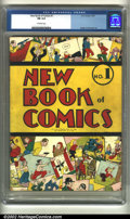 Golden Age (1938-1955):Humor, New Book of Comics #1 (DC, 1937) CGC FN 6.0 Off-white pages. Overstreet 2002 FN 6.0 value = $6,000....
