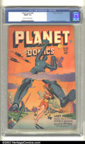 Golden Age (1938-1955):Science Fiction, Planet Comics #48 (Fiction House, 1947). CGC FN/VF 7.0 Cream tooff-white pages. Overstreet 2002 FN 6.0 value = $182; VF 8.0...