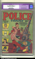 Golden Age (1938-1955):Superhero, Police Comics #1 (Quality, 1941). CGC Apparent VG- 3.5 Slight (A) Off-white to white pages. Restoration includes: spine spli...
