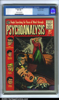 Golden Age (1938-1955):Horror, Psychoanalysis #3 Gaines File Pedigree 9/12 (EC, 1955) CGC VF+ 8.5Off-white to white pages. Jack Kamen cover and interior a...