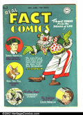 Golden Age (1938-1955):Non-Fiction, Real Fact Comics #2 (DC, 1946) Condition: VG/FN 5.0. This is asolid, beautiful copy with supple pages. Book appears much ni...