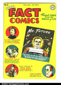 Golden Age (1938-1955):Non-Fiction, Real Fact Comics #3 (DC, 1946) Condition: VG/FN. Nice book withgreat pages. H.G. Wells and Lon Chaney stories. First DC let...