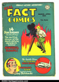 Golden Age (1938-1955):Non-Fiction, Real Fact Comics #7 (DC, 1947) Condition: VG-. Tough DC issue.Features story about Air Force One. Overstreet 2002 GD 2.0 va...