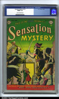 Golden Age (1938-1955):Horror, Sensation Mystery #116 (DC, 1953) CGC FN/VF 7.0 Cream to off-whitepages. Overstreet 2002 FN 6.0 value = $129; VF 8.0 value ...