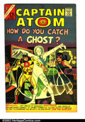 Golden Age (1938-1955):Science Fiction, Space Adventures/Capt. Atom Lot (Charlton). Nice lot of 5 comicsfeaturing Capt. Atom, with outstanding artwork by Steve Dit...