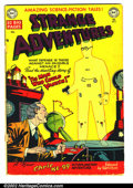 Golden Age (1938-1955):Horror, Strange Adventures #5 (DC, 1951). GD 2.0. Cover is detached, andbeing held on by a small piece of tape....