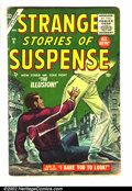 "Golden Age (1938-1955):Horror, Strange Stories of Suspense #6 (Atlas, 1955) Condition: VG. SuperAtlas sci-fi. ""Big Code"" book. Nice page quality. Overstre..."
