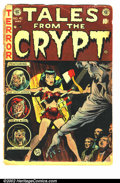 Golden Age (1938-1955):Horror, Tales From the Crypt #41 (EC, 1954). FR, spine totally split....