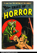 Golden Age (1938-1955):Horror, Tales of Horror #9 (Toby Publishing, 1954). Cool pre-code horror.VG....