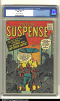 Silver Age (1956-1969):Science Fiction, Tales of Suspense #3 (Atlas, 1959). CGC NM- 9.2 Off-white to whitepages. Kirby, Ditko, and Sinnott art. Overstreet 2002 NM ...