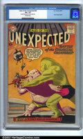 Silver Age (1956-1969):Horror, Tales of the Unexpected #40 (DC, 1959). CGC VG+ 4.5 Off-whitepages. Centerfold detached from bottom staple only. Space Rang...