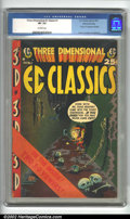 Golden Age (1938-1955):Horror, Three Dimensional EC Classics #1 Gaines File Pedigree 9/12 (EC,1954) CGC VF- 7.5 Off-white pages. Here is an extremely rare...