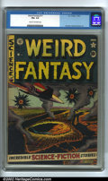 Golden Age (1938-1955):Science Fiction, Weird Fantasy #11 (EC, 1952). CGC FN+ 6.5 Cream to off-white pages.Overstreet 2002 FN 6.0 value = $93....