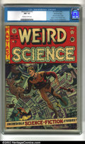 Golden Age (1938-1955):Science Fiction, Weird Science #12 Gaines File pedigree 10/11 (EC, 1952). CGC NM-9.2 Off-white to white pages. Kamen, Orlando, and Wood art....