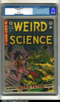 Golden Age (1938-1955):Horror, Weird Science #22 (EC, 1953). CGC VF- 7.5 Off-white pages.Overstreet 2002 VF 8.0 value = $301....
