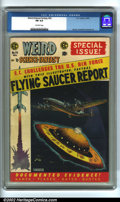 Golden Age (1938-1955):Science Fiction, Weird Science-Fantasy #26 (EC, 1954). CGC FN 6.0 Off-white pages.Overstreet 2002 FN 6.0 value = $93....