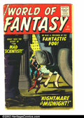 Golden Age (1938-1955):Science Fiction, World Of Fantasy #11 (Atlas, 1958) Condition: GD+. Great Atlasscience-fiction. Overstreet 2002 GD 2.0 value = $18....