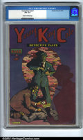 Golden Age (1938-1955):Crime, Young King Cole #1 (Novelty Press, 1945). CGC FN+ 6.5 Cream to off-white pages. Overstreet 2002 FN 6.0 value = $93....