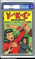 Golden Age (1938-1955):Crime, Young King Cole V2 #5 Mile High pedigree (Novelty Press, 1947) CGC NM 9.4 Off-white to white pages. Overstreet 2002 NM 9.4 v...