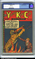 Golden Age (1938-1955):Crime, Young King Cole V3 #4 Mile High pedigree (Novelty Press, 1947) CGC NM 9.4 Off-white to white pages. Overstreet 2002 NM 9.4 v...