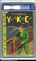Golden Age (1938-1955):Crime, Young King Cole V3 #12 Mile High pedigree (Novelty Press, 1948) CGC NM- 9.2 White pages. Overstreet 2002 NM 9.4 value = $80....